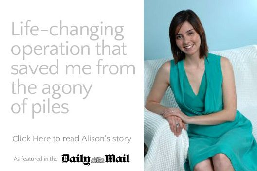 Daily Mail - Alison's Story